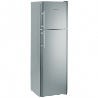 LIEBHERR CTNESF3663 fridge freezer with 2 drawer freezer on top